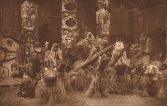 Masked Dancers - Qágyuhl [Plate 358]