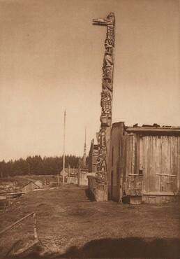 Qágyuhl Village at Fort Rupert [Plate 353]