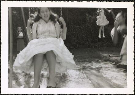 Untitled (Girl in swing)