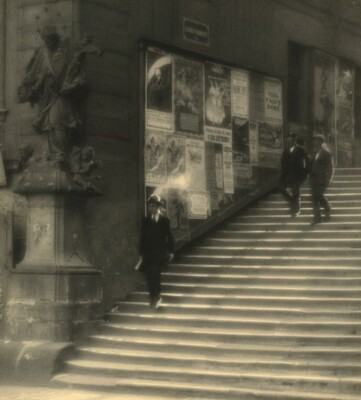 Staircase of Old Prague