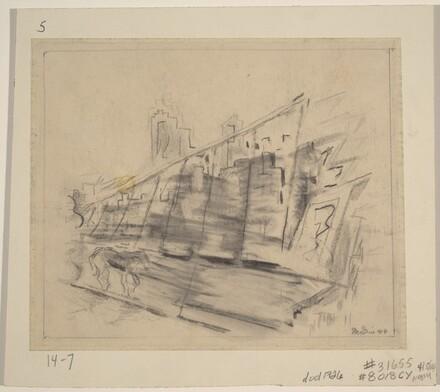 Brooklyn Bridge (Study for On the Bridge)