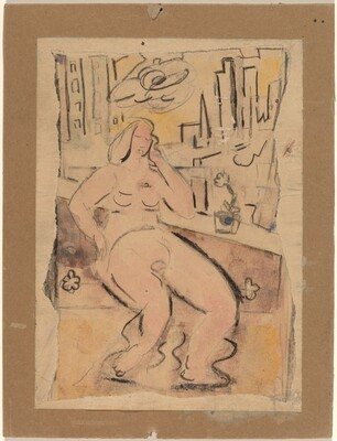 Seated Nude, New York City