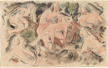 Grouping, Nude Figures
