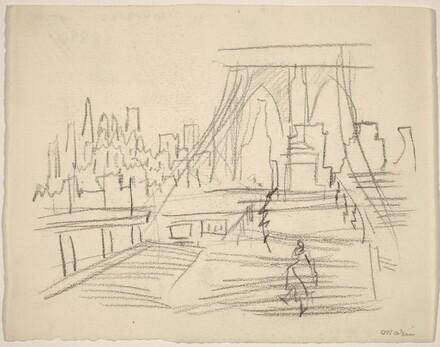 On Brooklyn Bridge to NYC