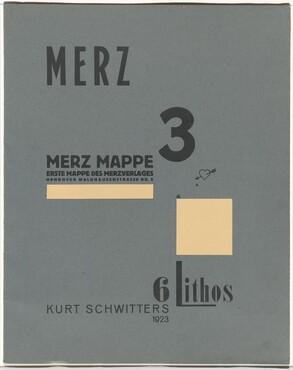 Merz 3 (portfolio cover)