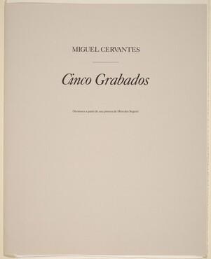 Cinco Grabados (Five Prints)