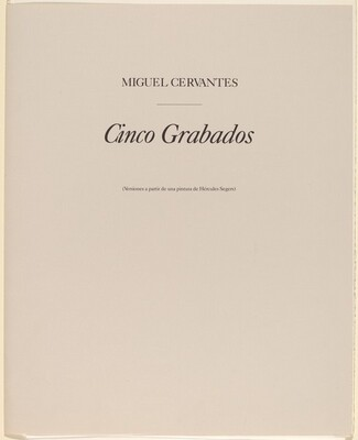 Cinco Grabados (Five Prints)