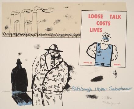 Pittsburgh? - Saboteur - 1944, from Ubu centenaire: Histoire d'un farceur criminel