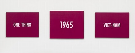 On Kawara, Title, 19651965