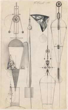 Studies for Constructivist Sculptures [recto]