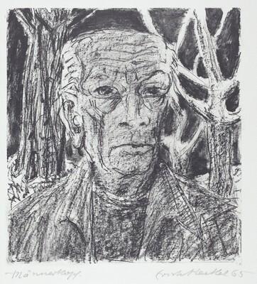 Männenkopf (Self-Portrait)