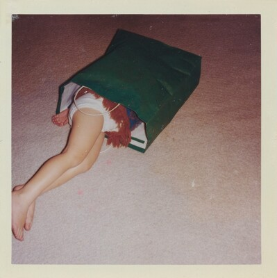 Untitled (Girl in paper bag)