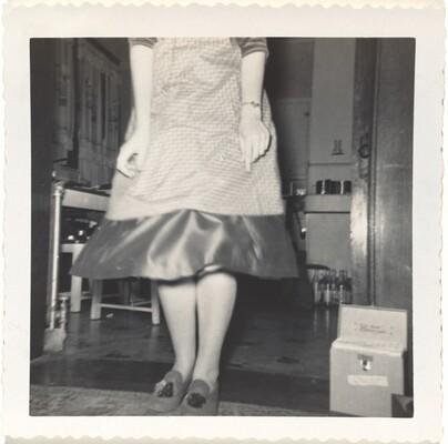 Dorie, Dec. 1956 'Legs'