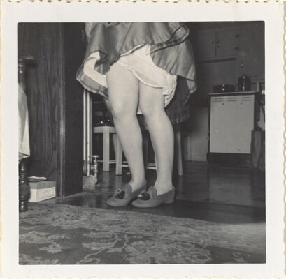 Xmas '56 Dorie's 'Leg's?'