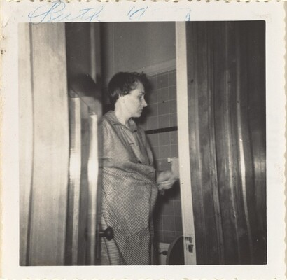 Ruth Nelson, April 1957