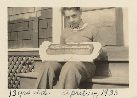 13 yrs old. April 14, 1933