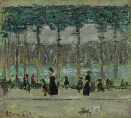 Walking at the Lake, Bois de Boulogne