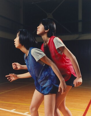 Kumi Nanjo and Marie Komuro