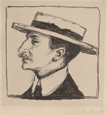 Emanuel Goldstein in a Hat
