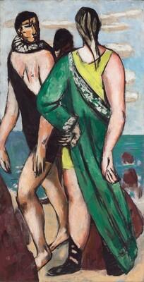 Bathing Scene (The Green Cloak)