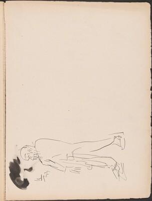 Schreitender Mann (Man Walking) [p. 73]