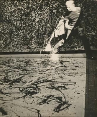 Hans Namuth, Jackson Pollock, 19501950