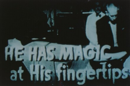 Untitled (He has magic at his fingertips women at his feet...and murder in his heart!)