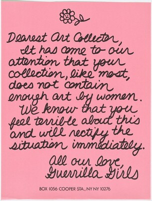 Dearest Art Collector