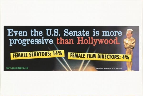 Even the U.S. Senate is more progressive than Hollywood.