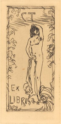 Ex Libris (Bookplate for Charles Terrasse)