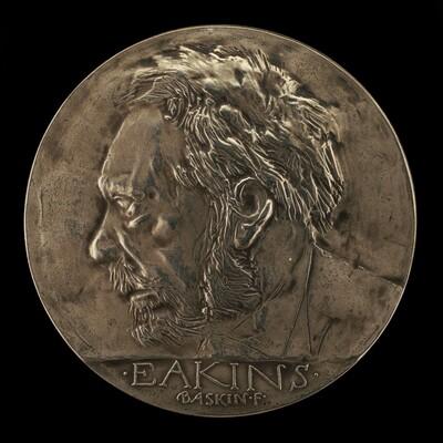 Thomas Eakins House Restoration Commemorative Medal (obverse)