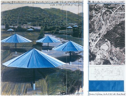 The Umbrellas, Joint Project for Japan and U.S.A.