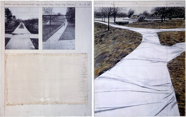 Wrapped Walk Ways, Project for Jacob L. Loose Memorial Park, Kansas City, Missouri