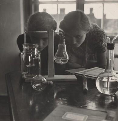 Improvised Chemistry Lab Experiment, Szeged, Hungary