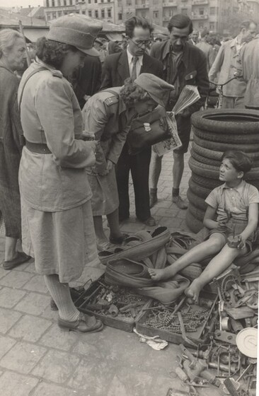 David Seymour (Chim), Delinquency, Budapest, Hungary, 1948