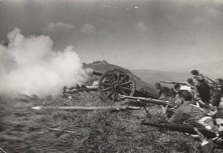 Republican Soldiers in Combat, Spanish Civil War