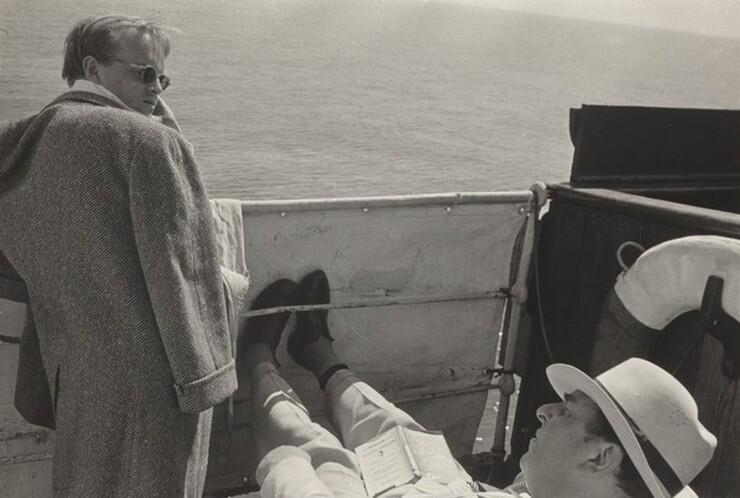 David Seymour (Chim), Truman Capote, 1953