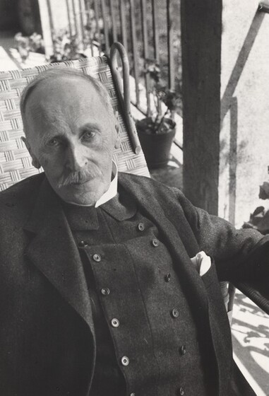 David Seymour (Chim), Romain Rolland, 1935-1936, printed before 1962