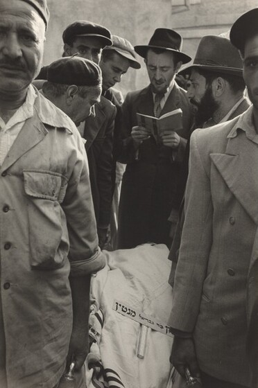 David Seymour (Chim), Funeral on Israeli Border, 1953