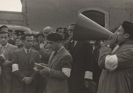 Spanish Refugees Preparing to Board S.S. Sinaia