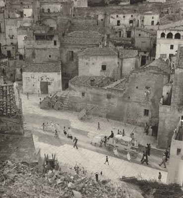 Child's Funeral, Matera, Italy