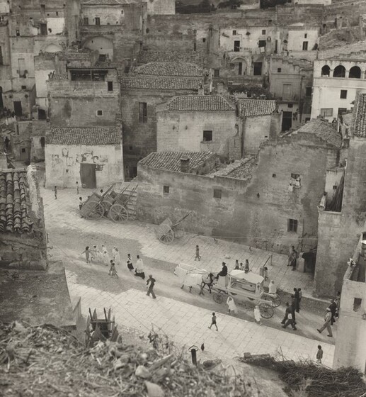 David Seymour (Chim), Child's Funeral, Matera, Italy, 1948