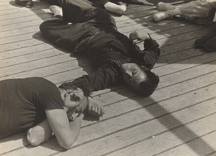 Spanish Refugees aboard S.S. Sinaia