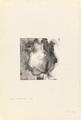 Buttocks [1/2 uncorrected stone in black]
