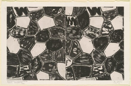 Flagstones (endpaper) [white plate, trial proof 2/2]