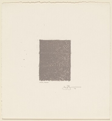Untitled (Bookplate for David Grainger Whitney) [trial proof]