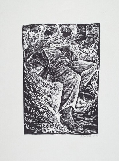 Elizabeth Catlett, ...and a special fear for my loved ones, 1946