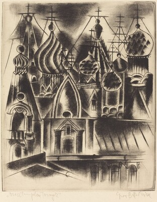 Untitled (Russian church towers)