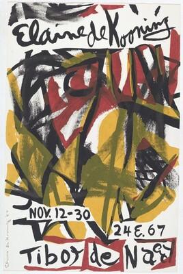 Untitled (Elaine de Kooning, Tibor De Nagy)