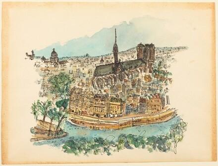 Notre-Dame, Ile de la Cité